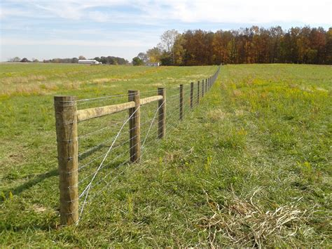 fencing options indiana agricultural fencing livestock