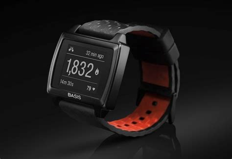 Basis Smartwatch Basis Peak Smartwatch Fitness Tracker Unveiled For 199