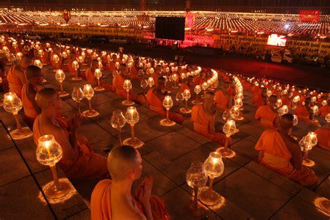 magha puja day at wat phra dhammakaya