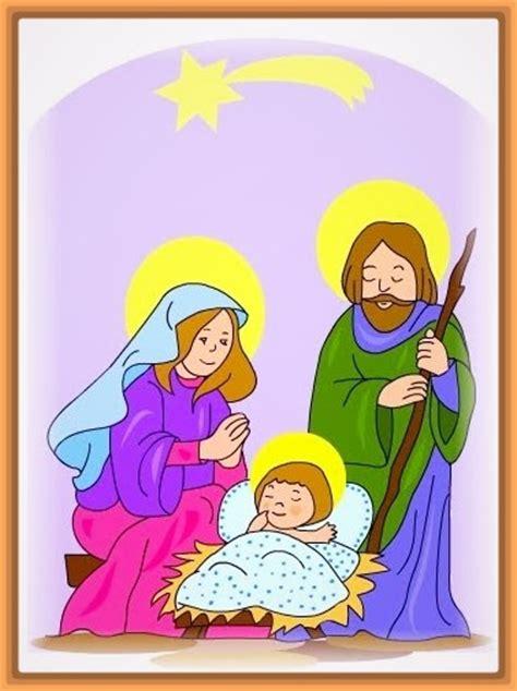 Imagenes Del Nacimiento De Jesus A Color | dibujo del nacimiento del ni 241 o jesus para colorear