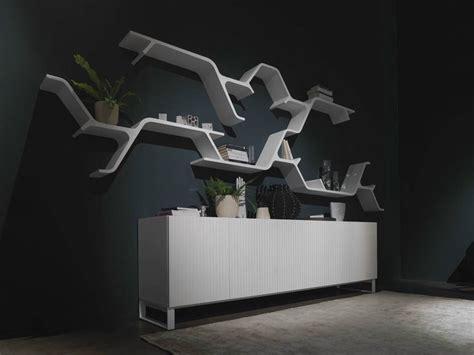 horm mobili lacquered bookcase sinapsi by horm it design sebastian