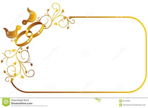 Wedding Border Gold by Decoration Clipart Wedding Ring Pencil And In Color