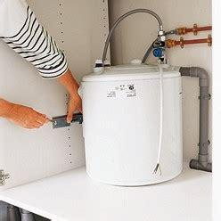 plomberie comment poser et raccorder un chauffe eau
