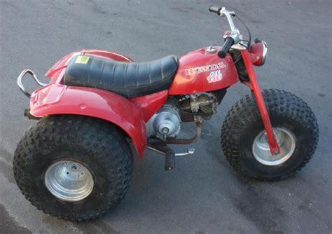 honda atc 110 3 wheeler atc honda 110 three wheeler