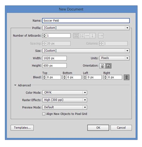 tutorial illustrator c6 how to create a 3d soccer field in illustrator