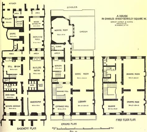 edwardian house plans plan of an edwardian town house edwardian home decor pinterest