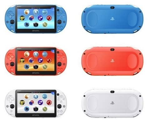 psvita slim is getting some new colors