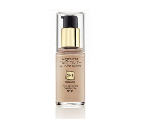 Foundation Max Factor max factor facefinity all day flawless 3 in 1 reviews