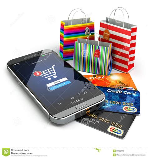 shopping mobile phones e commerce shopping mobile phone