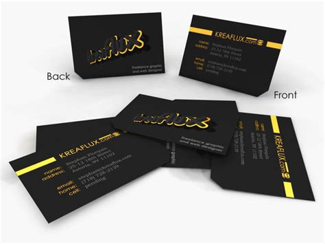 beautiful business card designs  jotform blog