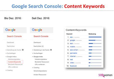 google es keywordsfind com google search console content keywords weg danke google