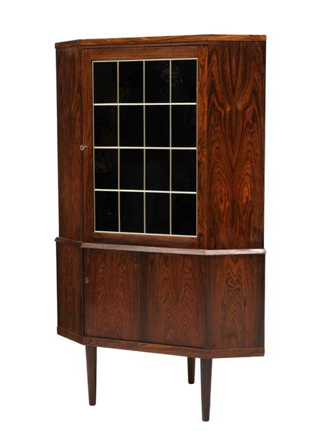 mid century corner cabinet mid century rosewood corner cabinet june mid