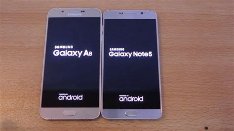 Samsung A8 Vs S5 Samsung Galaxy Note 5 Vs Galaxy A8 Speed Test Hd