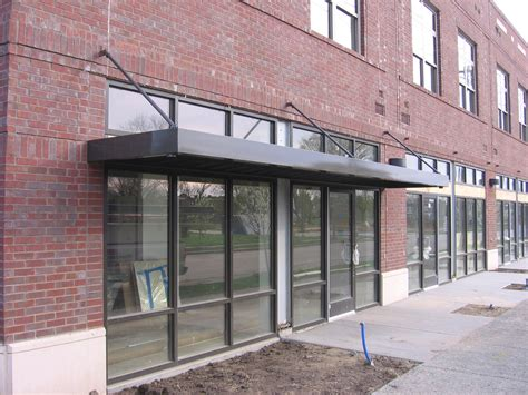steel awnings image gallery metal awnings