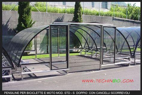 tettoie per biciclette pensiline tettoie per biciclette vendita 015146 mi