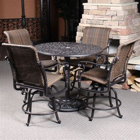 counter height patio furniture florence woven counter height