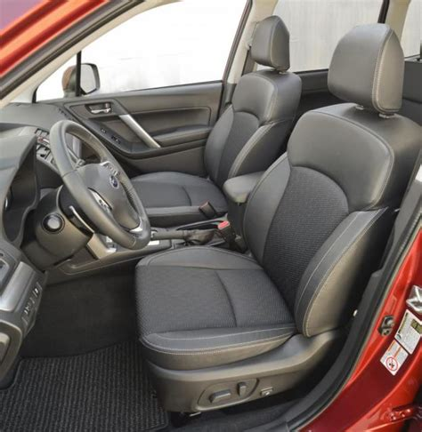 Subaru Forester Leather Interior by 2014 Subaru Forester Review Car Reviews