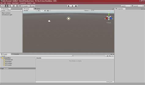 tutorial belajar unity 3d tutorial membuat game sederhana dengan unity3d belajar