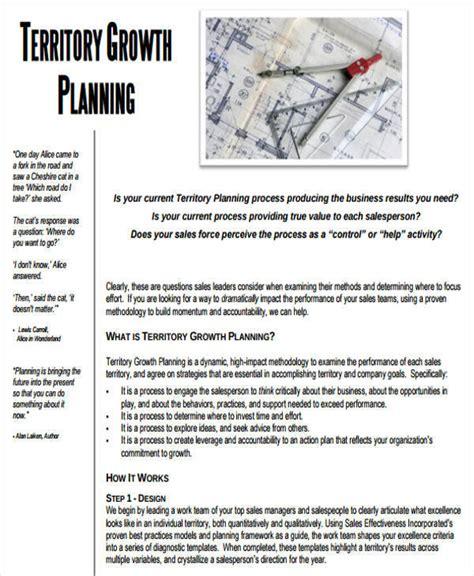 sales territory business plan template 37 sle sales plan