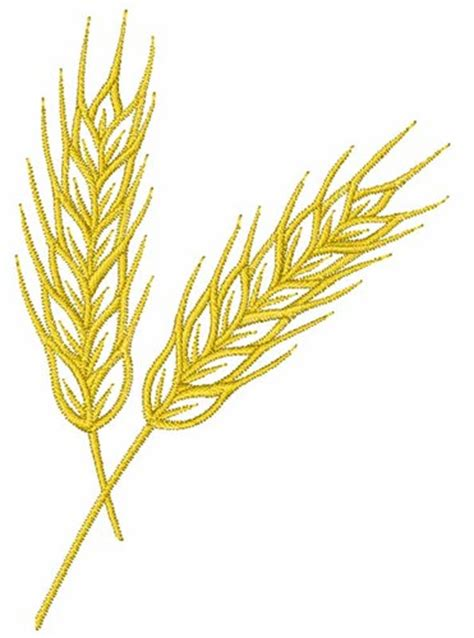 embroidery design wheat wheat stalk embroidery designs machine embroidery designs