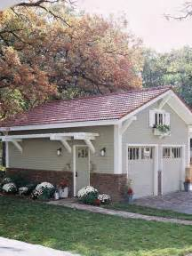 add on garage designs add interest to your yard with a pergola on the side