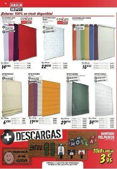 bricodepot cortinas brico depot catalogo septiembre 2013 estores cortinas visillos