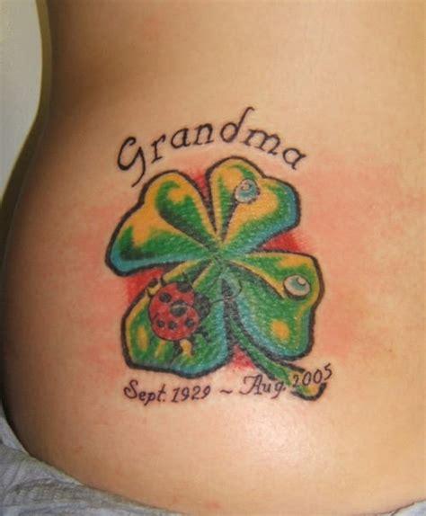 four tattoo four leaf clover tattoos