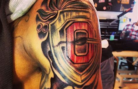 ohio state tattoos shazier got a new eleven warriors