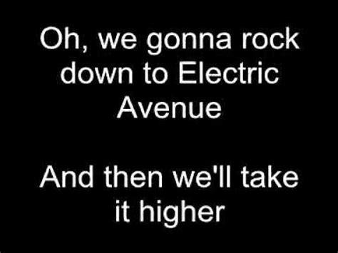 electric lyrics electric avenue eddy grant lyrics