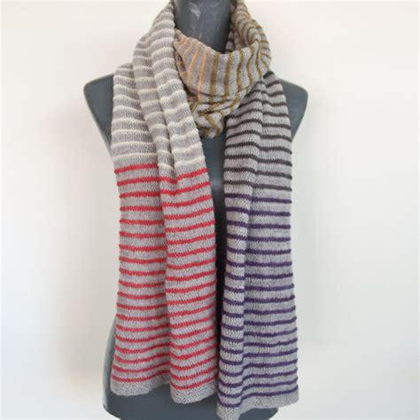 striped knit scarf pattern pin stripe scarf knit pattern cowgirlblues