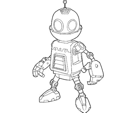 ratchet and clank coloring pages coloring pages