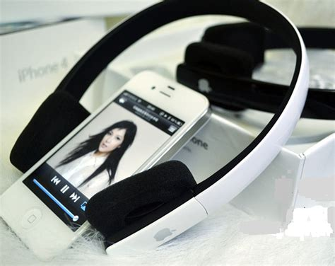 Headset Bluetoth Apple orginal apple bluetooth headset ds610 white clickbd