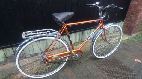 vintage 1980 orig raleigh esquire mens town bicycle 3 speed stunning colour gc stourbridge dudley