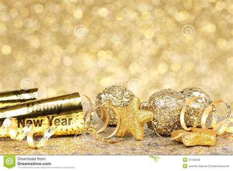 country new years new years golden background stock photo image