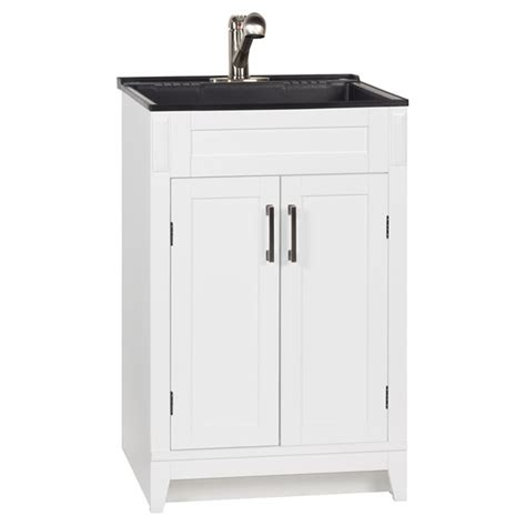Rona Bathroom Vanity Laundry Vanity Axbridge 2 Door 24 Quot White Rona