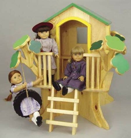 american girl doll tree house 19 w3599 doll tree house woodworking plan