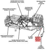 dodge ram  questions blower motor wiring diagram