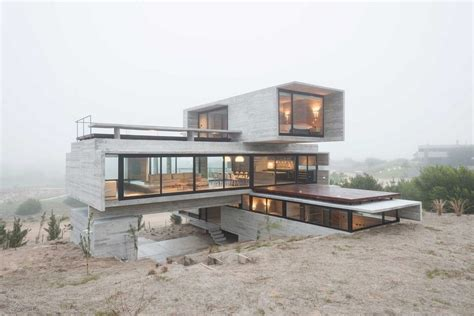 beton haus concrete house a nest for tough guys designed by luciano
