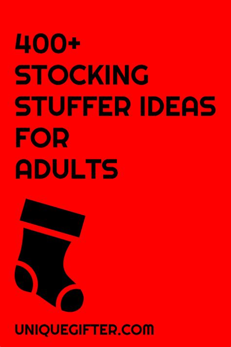 ideas for stuffers 400 stuffer ideas for adults stuffers and ideas