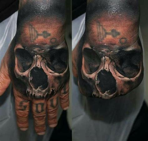 tattoo 3d caveira 9 best realistic skeleton hand tattoo images on pinterest
