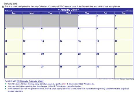 printable monthly calendar wincalendar 2015 excel wincalendar new calendar template site