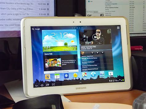 Samsung Tab Note 2 Second neowin samsung galaxy note 10 1 review techspot