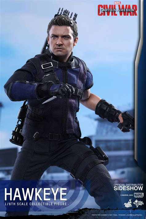 film marvel hawkeye marvel hawkeye sixth scale figure by hot toys sideshow