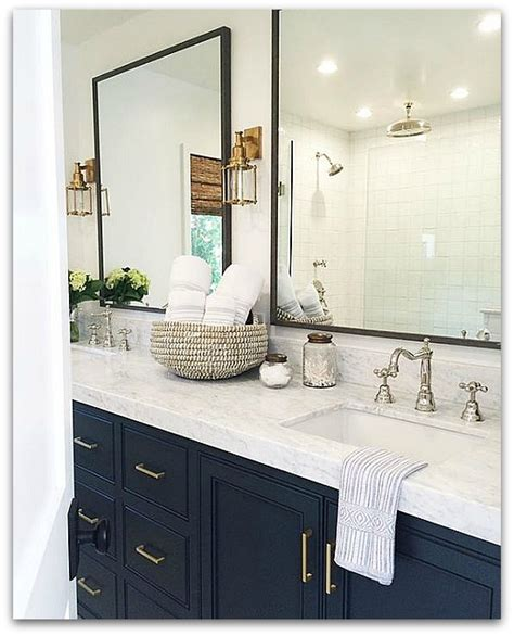 Navy Blue Bathroom Vanity My For Navy Blue And The Next Big Plan Glam Living