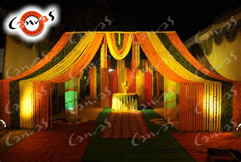 themes for gallery shows canvas decoration services mata ki chowki jagrata jagran