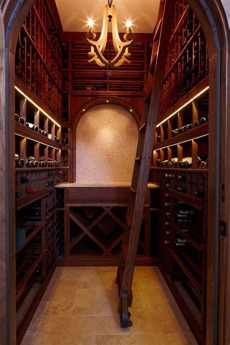 dedicated wine room   high  customized home