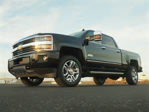 Chevrolet Silverado 2500hd Diesel Review 2016 Chevrolet Silverado 2500hd High Country