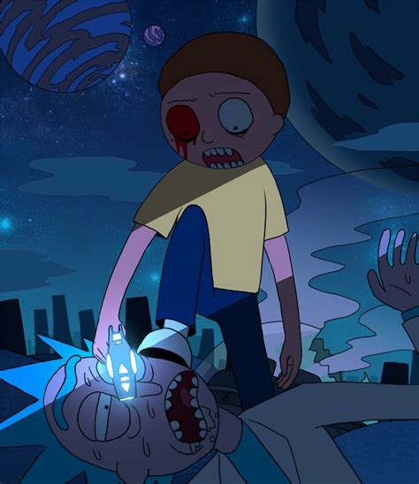 Is Evil Morty Detoxed Morty by Evil Morty Begins By Spowys On Deviantart