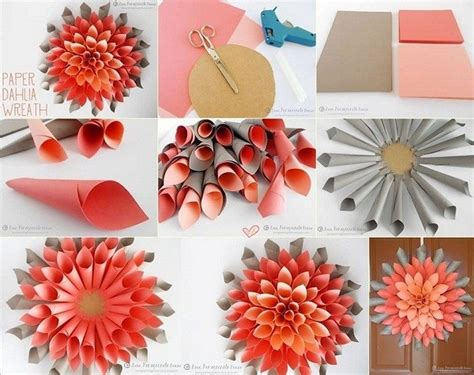 paper craft home decor wall decor using paper greatest decor