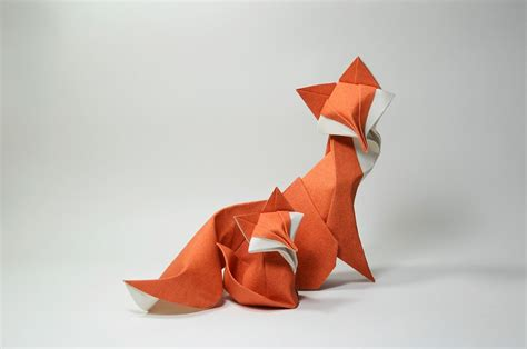 Origami Fox Advanced - 23 wonderful origami woodland animals